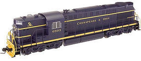 Atlas-O RSD-7/15 3Rl Chesapeake & Ohio #6801 O Scale Model Train Diesel Locomotive #20020019
