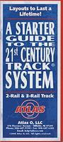 Atlas-O 21st Century(R) Track Brochure O Scale Model Railroading Book #23