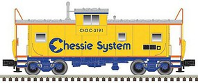 Atlas-O Ext Vis Cab 3-RL Chessie - O-Scale