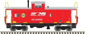 Atlas-O Standard-Cupola Caboose - 3-Rail Ready to Run Norfolk Southern #555608 (N&W Heritage) - O-Scale