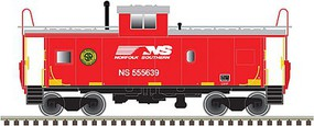 Atlas-O Standard-Cupola Caboose - 3-Rail Ready to Run Norfolk Southern #555639 (Southern Railway Heritage) - O-Scale