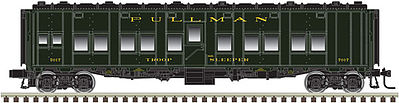 Atlas-O Troop Sleeper 2-Rl Pullmn - O-Scale