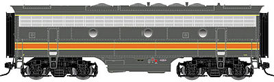 Atlas-O F7B Powered 2-Rail Milwaukee Road #74B -- O Scale Model Train Diesel Locomotive -- #30124021