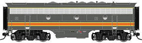 Atlas-O F7B Powered 2-Rail Milwaukee Road #89B O Scale Model Train Diesel Locomotive #30124022