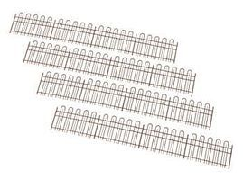 Atlas-O Modern Hairpin-Style Super Flex Fence - Kit O Scale Model Railroad Building Accessory #4001006