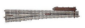 Atlas-O 3 Rail - #7.5 High Speed Righthand Turnout O Scale Nickel Silver Model Train Track #6022