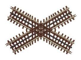Atlas-O 3-Rail - 60 Degree Crossing O Scale Nickel Silver Model Train Track #6083