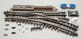 Atlas-O 3-Rail - O-45 Switch Righthand Remote Switch O Scale Nickel Silver Model Train Track #6086