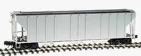 Atlas-O PS-4427 Low-Side Covered Hopper 3-Rail Undecorated O Scale Model Train Freight Car #6375