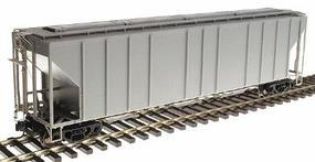 Atlas-O PS-4427 Low-Side Covered Hopper - 2-Rail Undecorated O Scale Model Train Freight Car #7375