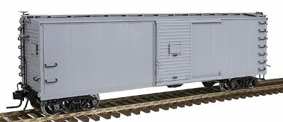 Atlas-O USRA 40' Steel Rebuilt Boxcar - 2-Rail Undecorated -- O Scale Model Train Freight Car -- #7480