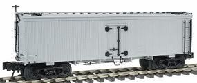Atlas-O 36 Wood Reefer - 3-Rail - Undecorated O Scale Model Train Freight Car #8000