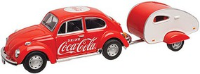 Atlas-O Coca Cola Bug w/Trailer - O-Scale