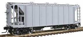 Atlas-O ACF 70-Ton 2-Bay Covered Hopper Undecorated O Scale Model Train Freight Car #9351