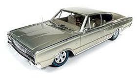 AutoWorldDiecast 1966 Dodge Charger 50th Anniversary Diecast Model Car 1/18 Scale #1067