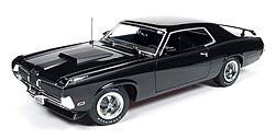 Auto World Diecast 1970 Mercury Cougar Eliminator -- Diecast Model Car -- 1/18 Scale -- #1071