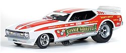 Auto World Diecast 1972 Bounty Hunter Mustang F/C -- Diecast Model Car -- 1/18 Scale -- #1111