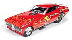 Auto World Diecast 1971 Dodge Charger Gene Snow F/C -- Diecast Model Car -- 1/18 Scale -- #1118