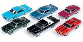 AutoWorldDiecast AutoWorld Diecast Set (6 Cars) Diecast Model Car 1/64 Scale #64002b