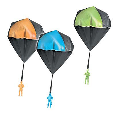 AEROMAX INC. Aeromax 2000 Glow Toy Parachute Display (24)