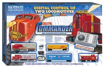 Digital Commander Deluxe Ho Scale Model Train Set 00501