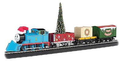 Bachmann Thomas & Friends Thomas Christmas Express Train Set -- HO Scale Model Train Set -- #00721