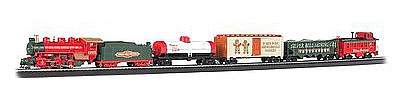 Bachmann Jingle Bell Christmas Express Train Set -- HO Scale Model Train Set -- #00724