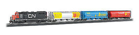 Bachmann Harvest Express Set HO Scale Model Train Set #00735