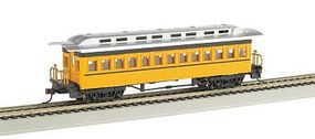 Bachmann 1860-1880 Coach Painted Unlettered HO Scale Model Train Passenger Car #13403