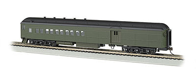 Bachmann 72' Heavyweight Combine Undecorated -- HO Scale Model Train Passenger Car -- #13608