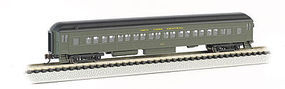 Bachmann 72 Heavyweight Coach New York Central N Scale Model Train Passenger Car #13754