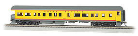 Bachmann 72 Heavyweight Observation w/Light UP 1503 HO Scale Model Train Passenger Car #13805
