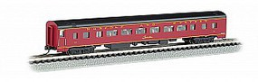 Bachmann 85 Smooth-Side Coach w/Interior Lighting N&W N Scale Model Train Passenger Car #14252