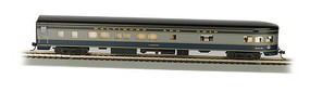 Bachmann 85 Smooth-Side Observation Baltimore & Ohio HO Scale Model Train Passenger Car #14303