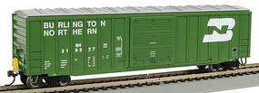 Bachmann HO 50 Outside Braced Boxcar w/Flashing LED Light Burlington Northern