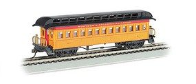Bachmann Old-Time Rounded-End Coach Western & Atlantic RR HO Scale Model Train Passenger Car #15101