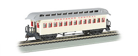 Bachmann Wood Old Time Coach Northern Central HO Scale Model Train Passenger Car #15103