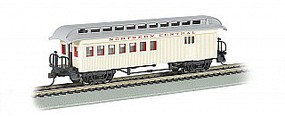 Bachmann Wood Old Time Combine Northern Central HO Scale Model Train Passenger Car #15203