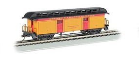 Bachmann Old-Time Rounded-End Baggage Western & Atlantic RR HO Scale Model Train Passenger Car #15301