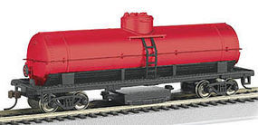 Bachmann Track Cleaning Tank Car - Unlettered, Oxide Red HO Scale Model Train Freight Car #16303