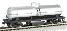 Bachmann Track Cleaning Car Unlettered Silver HO Scale Model Train Freight Car #16304