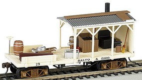 Bachmann Old-Time Maintenance Blacksmith Baltimore & Ohio HO Scale Model Train Freight Car #16401
