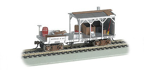 Bachmann Old Time Blacksmith Car Central Pacific HO Scale Model Train Freight Car #16403