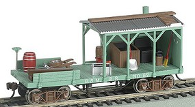 Bachmann Old Time Blacksmith Car US Military Railroad HO Scale Model Train Freight Car #16404