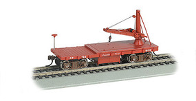 Bachmann Old Time Derrick Car Canadian Pacific HO Scale Model Train Freight Car #16417