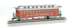 Bachmann Ringling Bros. 1860-1880 Coach #75 HO Scale Model Train Passenger Car #16601