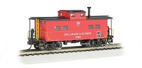 Bachmann Northeast Steel Caboose Delaware & Hudson HO Scale Model Train Freight Car #16812