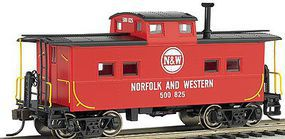 Bachmann NE Steel Caboose Norfolk & Western Red #557707 HO Scale Model Train Freight Car #16817