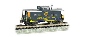 Bachmann NE Steel Caboose Norfolk & Western #518378 N Scale Model Train Freight Car #16863