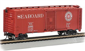 Bachmann HO 40 Boxcar Seaboard #24963 (Through the Heart of Dixie)